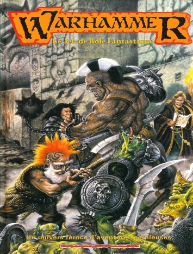 livre warhammer jdr